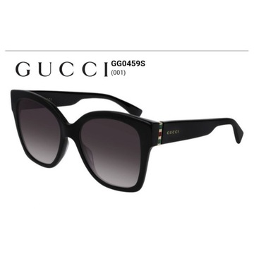 GUCCI,oryginalne okulay słoneczne model 0459S