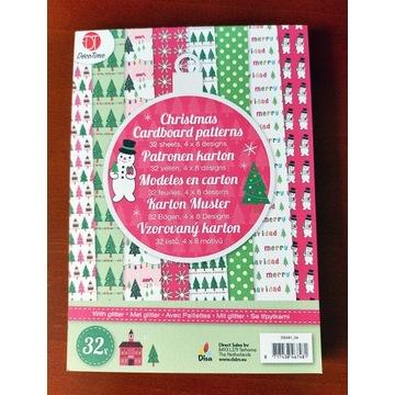 bloczek/blok papierów- zima,święta,Boże Narodzenie