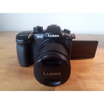 Lumix GH5 z obiektywem 12-60mm f3.5-5.6