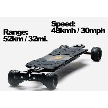 ONSRA BLACK Carve 2 Electric Skateboard 2021