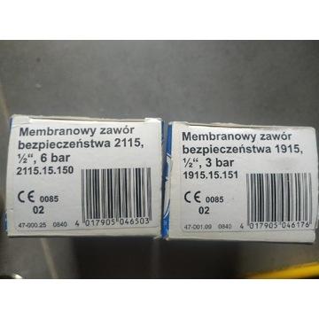 Membranowy zawór bezpieczeństwa SYR 1925 1/2 3 bar