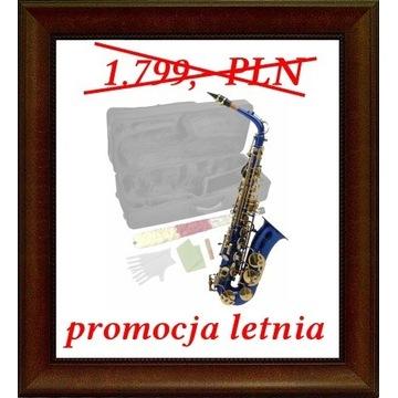NOWY saksofon altowy niemiecki MPM niebieski M003