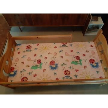 Łóżko dziecięce drewniane 165x80