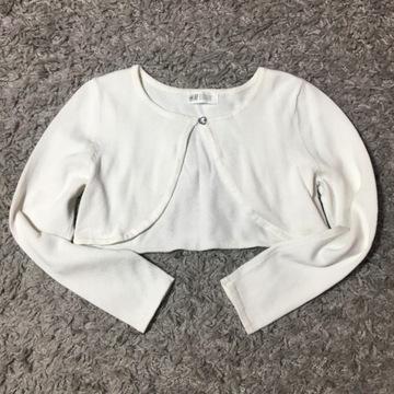 Sweterek Bolerko H&M r.122/128