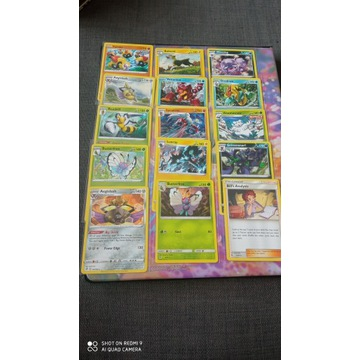 Karty Pokemon TCG: 15 kart RARE