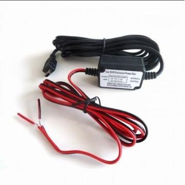 Zasilacz samochodowy mini USB 12-24V/5V/1,5A