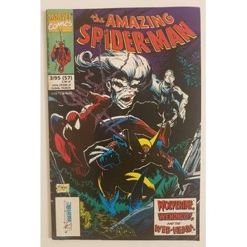 Spiderman 3/1995 Tm-Semic, Marvel Komiks Nr 3/95