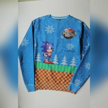 SEGA oryginalna bluza Sonic rozmiar S