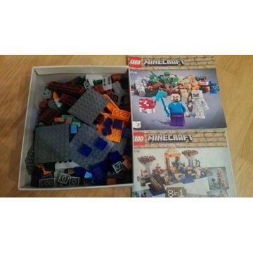 Zestaw startowy LEGO Minecraft 21116 8w1