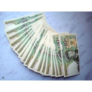Banknoty PRL 48 szt.