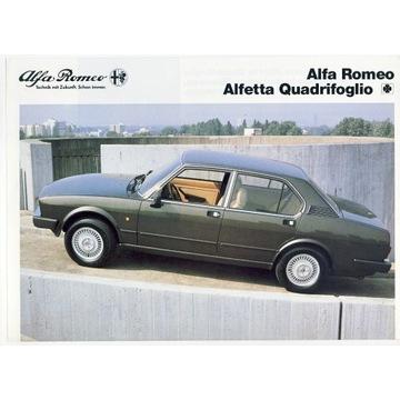 Folder Alfa Romeo Alfetta Q