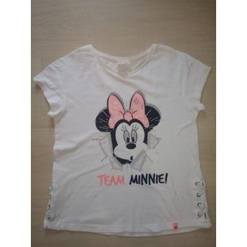Piękna bluzeczka Disney Minnie, rozmiar 140