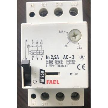 Wyłącznik silnikowy FAEL M 250