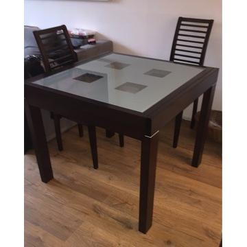 Stół rozkładany wymiar 90x90