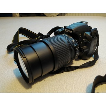 Nikon D3100 18-105, D3200 DUŻY zestaw gratis