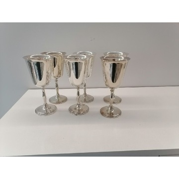 Posrebrzane Kielichy Silver Plated On Brass
