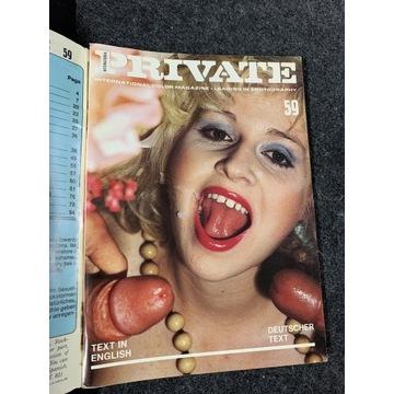 Private nr.59  Vintage jak Color Climax