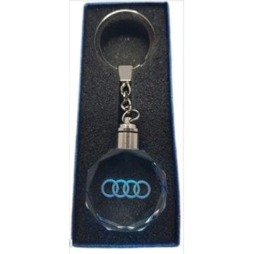 Brelok Led Audi breloczek do kluczy