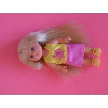 Lalka Evi firmy Simba dziecko Steffi ubranko butki