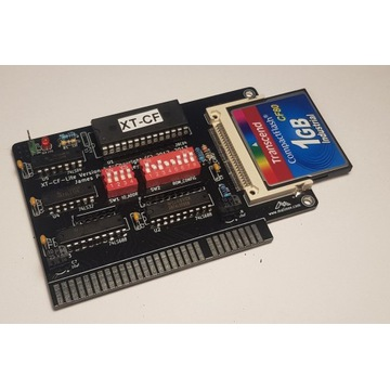 XT-CF 8bit, dysk twardy do 8bit komputerów XT 1GB