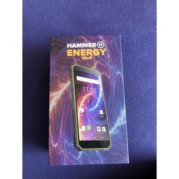 Nowy HAMMER Energy 18X9 Czarno-pomarańczowy
