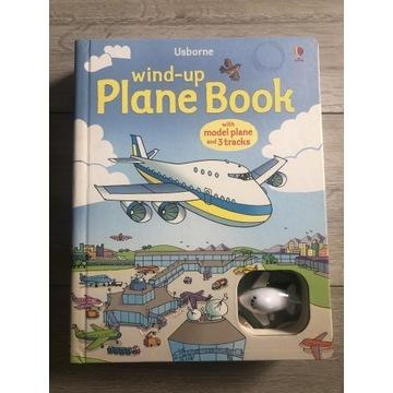 Książka Usborne Wind-Up Samolot