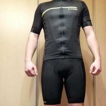 zestaw odzieży kolarskiej VITESSE spodenki koszulk