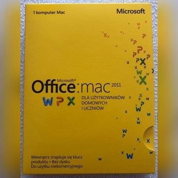 Używany Microsoft Office 2011 MAC 1 stanowisko