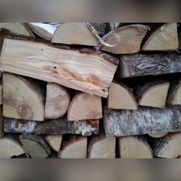 Drewno opałowe, kominkowe brzoza, brykiet drzewny