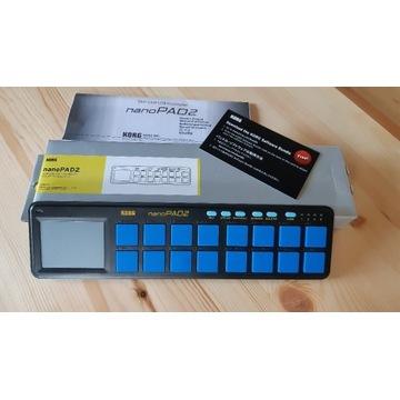 KORG nanoPAD 2 Kompaktowy kontroler MIDI USB