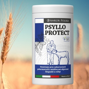 Psyllo Protect produkt przeciwbiegunkowy  cieląt