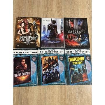 Kolekcja 6 filmów science fiction na DVD