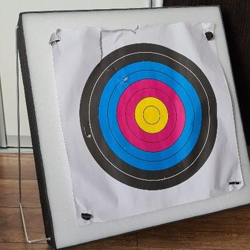 PIANKOWA MATA ŁUCZNICZA TARCZA 60/60/12cm+ Stelaż