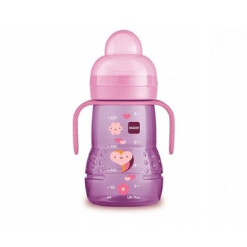 Trainer+ 220ml - Butelka dla niemowląt KUBEK MAM