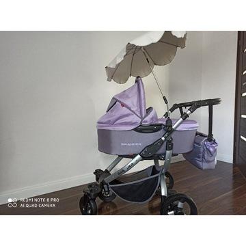 Wózek wielofunkcyjny 2w1 Tutek Grander