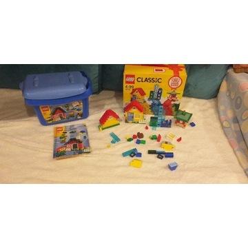 Lego 6161 zestaw i 3 domki z 10703
