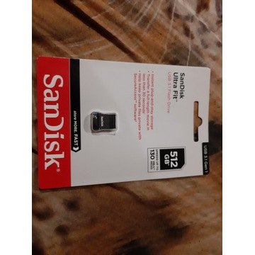 Sandisk Ultra Fit 512GB USB 3.1 pendrive