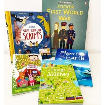 5 NOWYCH książek po angielsku (8-13 lat) Usborne