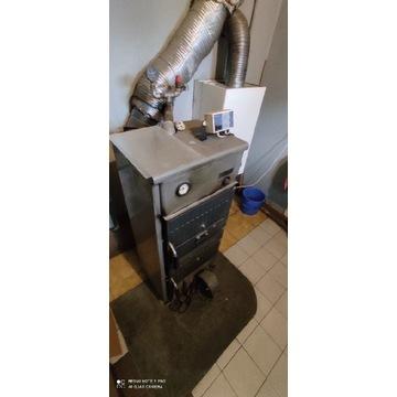 Piec żeliwny Herz 15 kW z automatyką