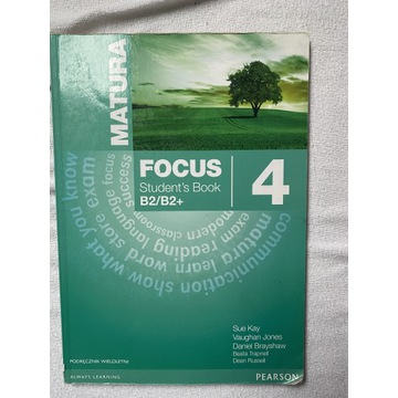 Focus 4 b2/b2+ matura Kay Jones