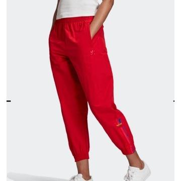 Spodnie dresowe sportowe adidas 3 stripes L