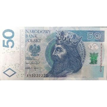 Nietypowe 50zl  - pięćdziesiąt złotych