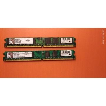 Pamięć RAM Kingston KVR800D2N5 2 x 2GB low profil