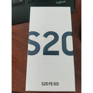 Samsung S20 FE 5G (SM-G781) NOWY, PLOMBA