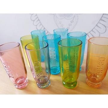 Szklanki kolorowe  Frugo szklanka 9szt