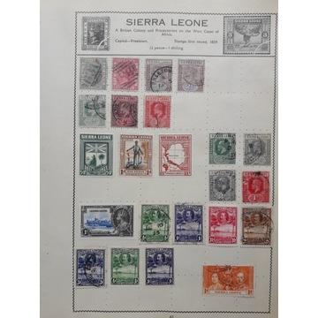 GB - kolonie angielskie- Sierra Leone