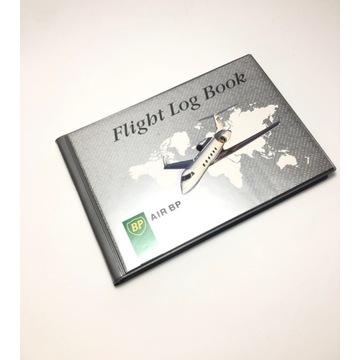 Flight log book air BP książka pilota samolotowego