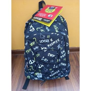 Plecak szkolny premium Loozz 3 komorowy