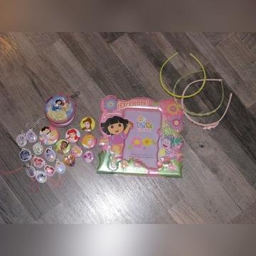 Ramka na zdjęcia DORA 10x15 Księżniczki broszki