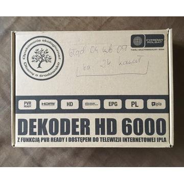 Dekoder HD 6000 ipla